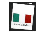 Etichette con le bandiere del mondo