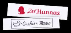 Etichette in raso stampate con testo e simbolo