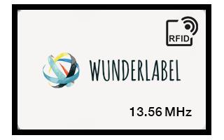 Tessera in pvc RFID 13.56 MHz