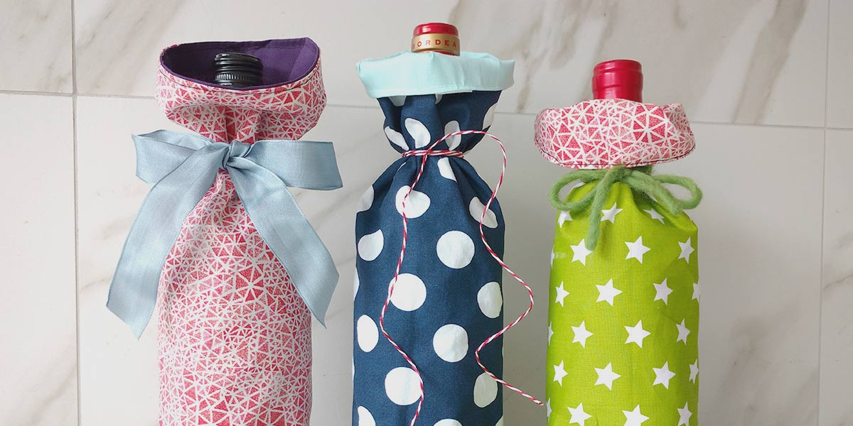 Come fare una facile borsa regalo per una bottiglia di vino