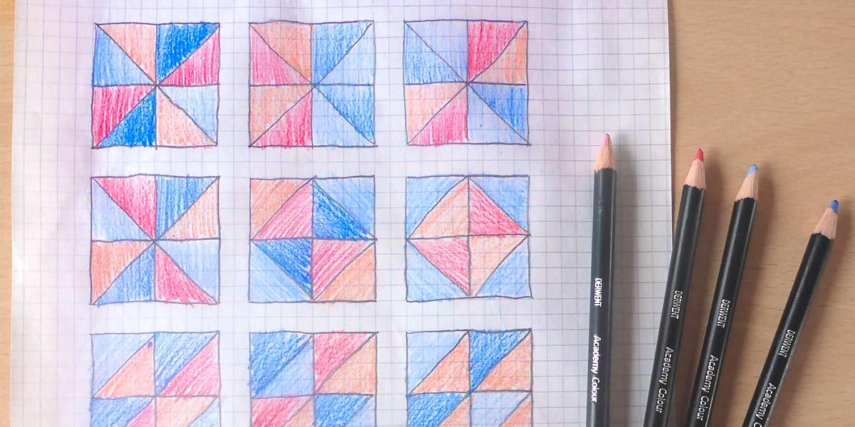 Come fare un cuscino patchwork: Post 2, Design & Taglio