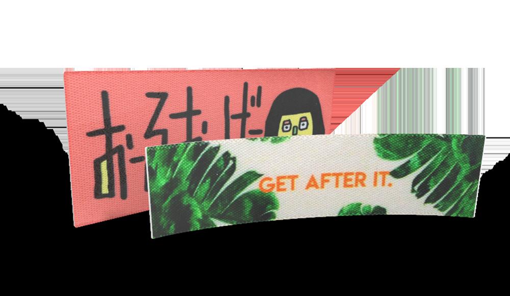 Etichette stampate personalizzate -carica il tuo logo o immagine