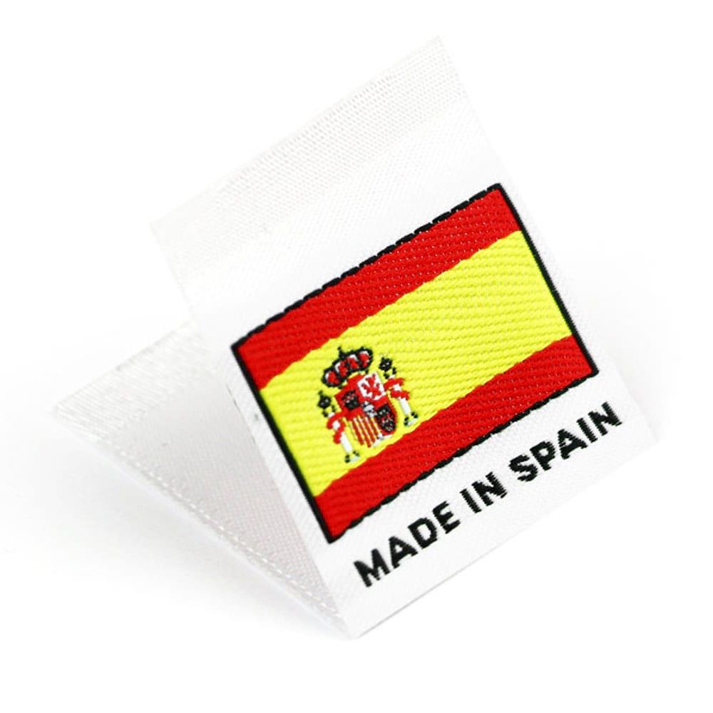Etichetta tessuta 'Made in Spain'