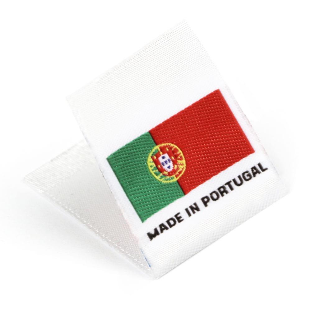 Etichetta tessuta 'Made in Portugal'